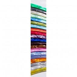 Office pointu 10 cms Le THIERS® manche en plexiglas 20 couleurs COUTEAUX DE CUISINE