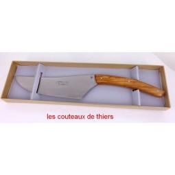 Coffret Coupe-Tout Le THIERS® , manche en bois d'olivier COUTEAUX DE CUISINE