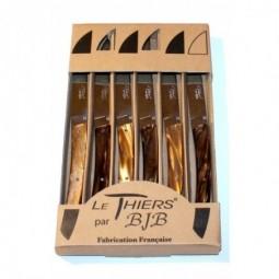 Coffret 6 couteaux Le THIERS® , CHOCOLAT LES COFFRETS