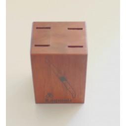 Bloc cuisine en bois de palissandre pour 4 couteaux de table LES ACCESSOIRES